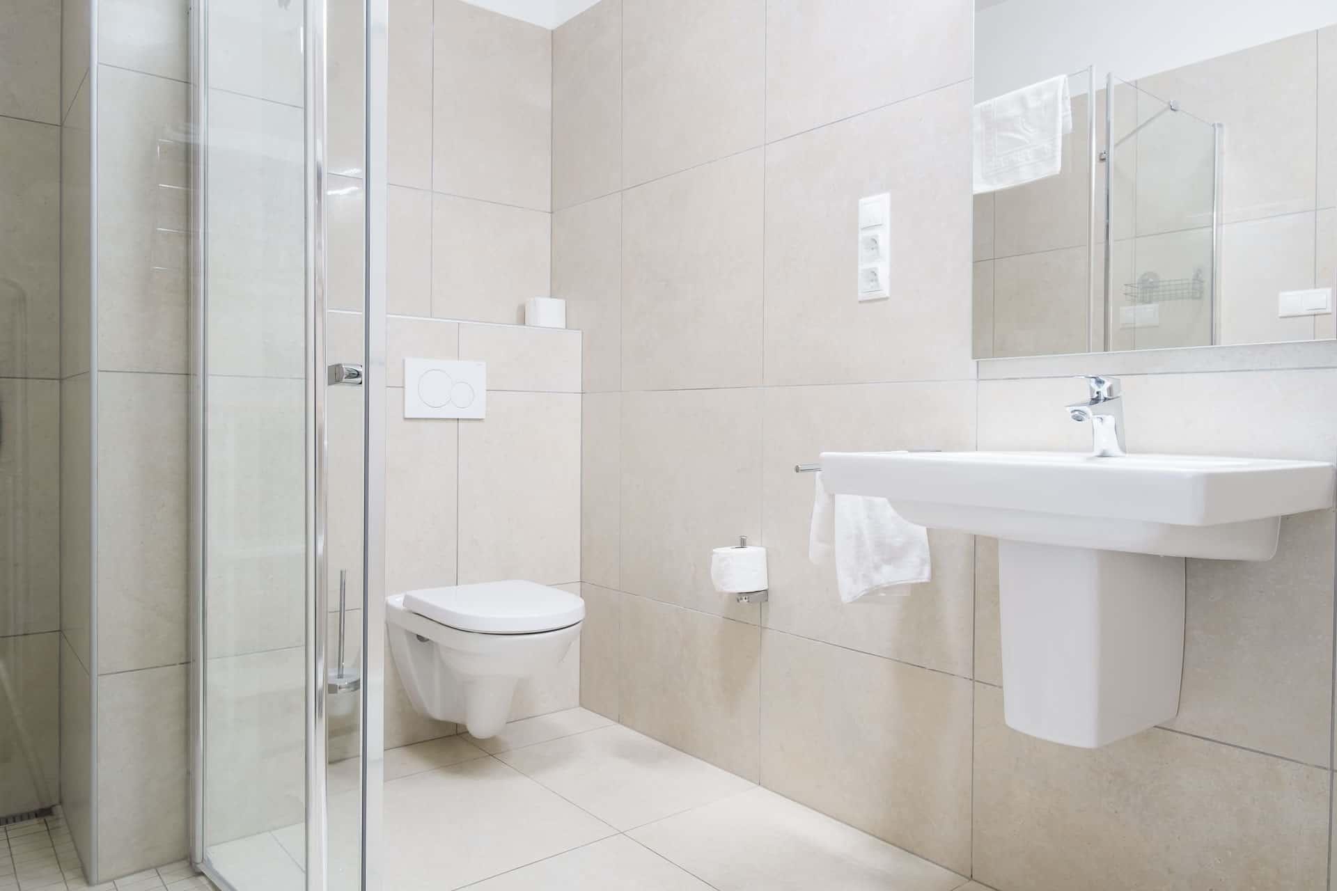Prémium minőségű, vízparti Apartmanok Keszthely - fürdőszoba.